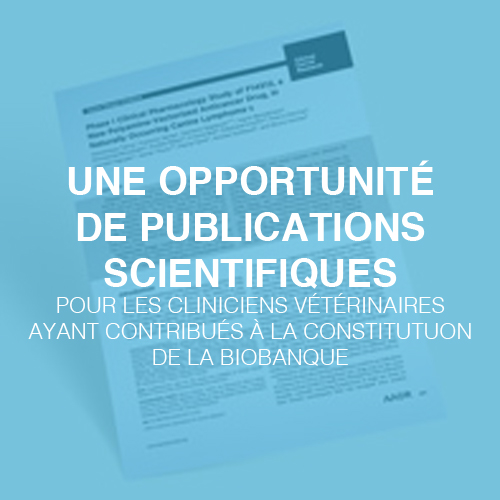 une opportunité de publications scientifiques